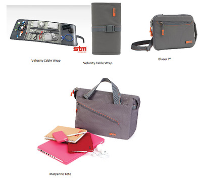 Stm Cable Wrap, 7  Tablet IPad Case 13  Or 15  Laptop Notebook Bag Carry Case  • 12.95£
