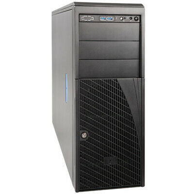 AU615.87 • Buy Intel Pedestal Chassis Server Case P4304XXMUXX 4U 4x Fixed HDD Bay NO PSU