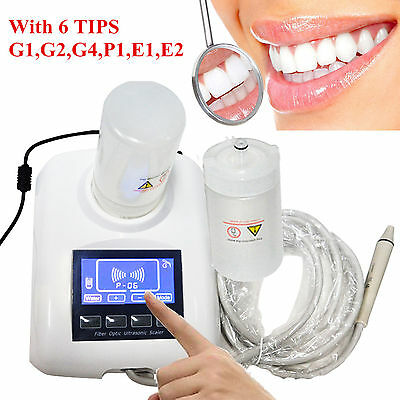 £145.99 • Buy Dental Water-Bottle Ultrasonic Scaler LCD Touch Screen YS-CS-A(B) With 6 Tips CE