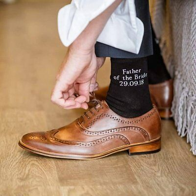 Father Of The Bride Socks, Special Socks For A Special Walk, Father, Dad Gift, • 5.50£