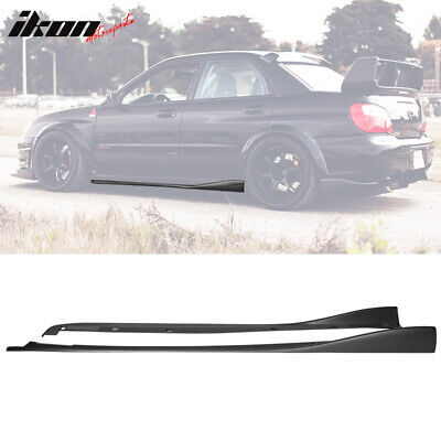 $149.99 • Buy Fits 02-07 Subaru Impreza WRX STI CS Style Side Skirts 2PC PP