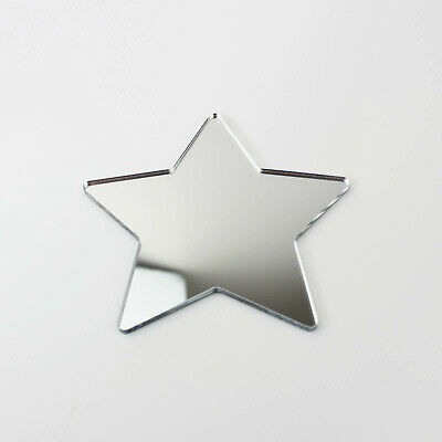 Star Acrylic Mirror Home Bathroom Children's Babies Safety Wall Shatterproof • 2.99£
