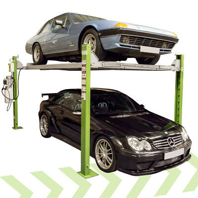 Strongman Bonar 4 Post Ramp Car Lift Parking Repair 240v Home Parking Garage • 2,400£