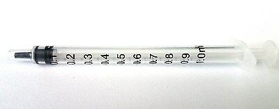 $ CDN10.57 • Buy 50 1ml Syringe Only With Luer Slip Tip Sterile Disposable Latex Free 1cc NEW