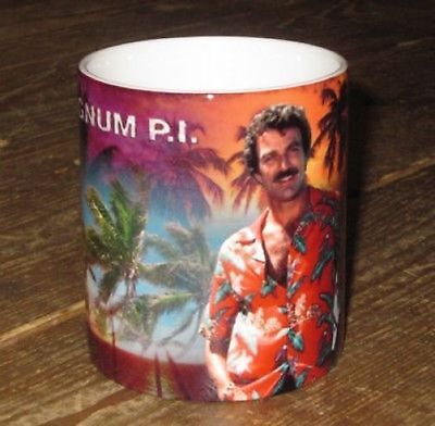 Tom Selleck Magnum P.I. Great New MUG • 7.99£