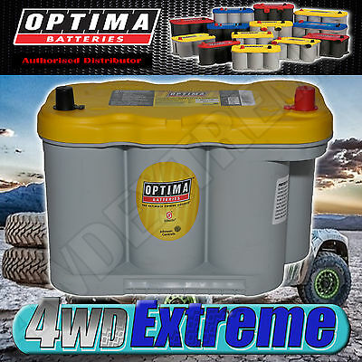AU375 • Buy Optima Yellow Top D27f Battery 12 Volt Agm 845cca Deep Cycle Suit N70zzl