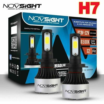 AU34.99 • Buy Nighteye H8 H9 H11 LED Headlight Bulbs Replace HID Halogen 72W 9000LM/Set Globes
