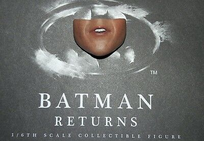 $ CDN22.48 • Buy 1/6 Hot Toys Batman Returns Batman MMS293 Lower Face #3 *US Seller*