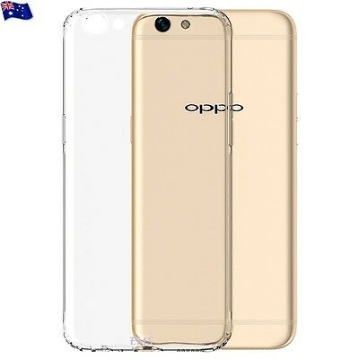 AU3.99 • Buy For Oppo A57 Thin Slim Soft Crystal Clear Transparent Gel TPU Case Cover