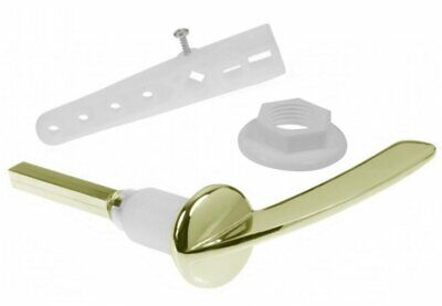 £20.65 • Buy Gold Cistern Toilet Lever Handle