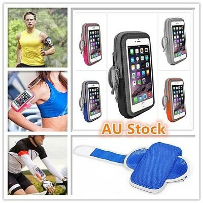 AU10.95 • Buy Outdoor Sport Running Gym Armband Arm Band Strap Bag Apple IPhone 6 7 8 X XS 11