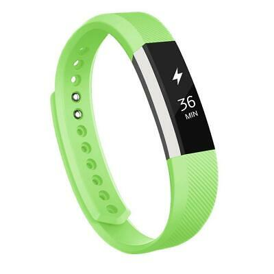 $ CDN4.81 • Buy For Fitbit Alta / Alta HR / Ace - Replacement Silicone Strap Band Twill UK