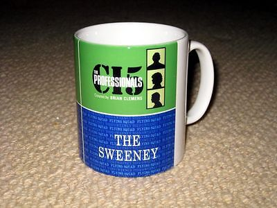 The Professionals And The Sweeney Titles MUG • 7.99£