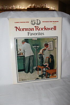$ CDN19.45 • Buy 1977 50 Norman Rockwell Favorite Picture Book Poster Size 15  X 12