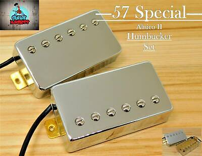 $38 • Buy G.M. 57 Special Alnico II Chrome Humbucker Set  (4-wire)for Gibson Epiphone®