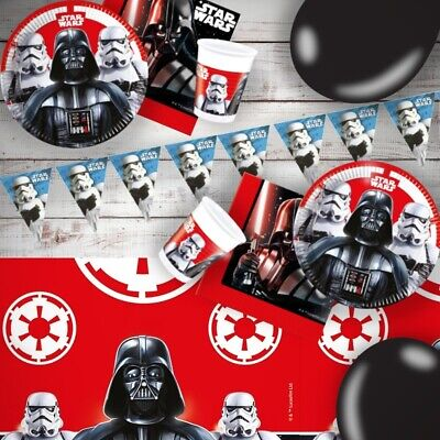 Star Wars Darth Vader & Storm Trooper Party Tableware, Decorations, Balloons • 3.49£