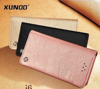 AU16.95 • Buy Leather Wallet Case Card Holder Flip Cover For IPhone 7 /8, IPhone 7 Plus/8 Plus