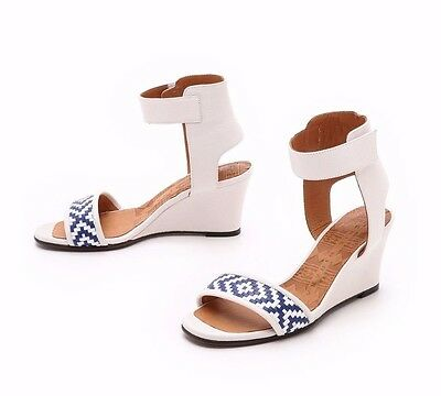 £123.62 • Buy Chie Mihara Shoes Rupas Sandals Ankle Strap Wedge New Nib $410 38