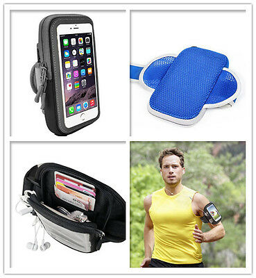 AU12.95 • Buy Sports Gym Running Armband For Apple IPhone IPhone Plus Arm Band Case Pouch Bag