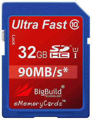 £12.95 • Buy 32GB Memory Card For Canon PowerShot SX50 HS A810 A3400 IS Camera SD Class 10