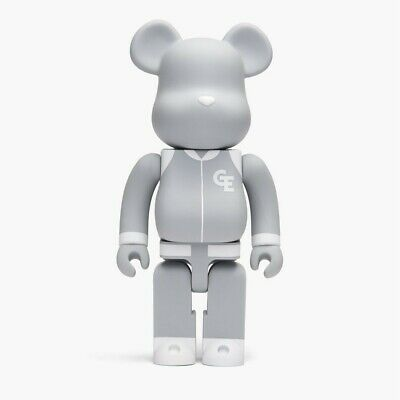 $109.99 • Buy Medicom Goodenough Classic Gray 400% Bearbrick Figure Gray