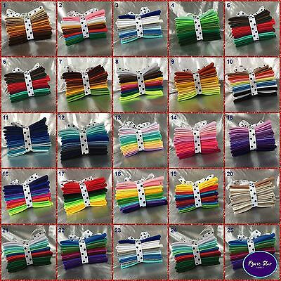 Mixed FELT * Coloured Themes (10 Sheets Per Pack ) Sheet Size 11cm X 22 Cm  • 3.94£