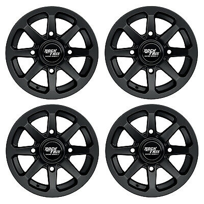 FOUR ATV RIMs WHEELs for Polaris RZR with 12x1.5 stud 547 SPIRIT 12x7 12x8 4//156
