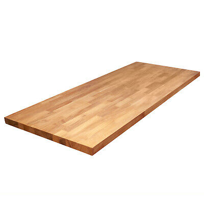 Solid Oak Wood Worktops, Real Wooden Timber Kitchen Breakfast Bars And Counters • 190£
