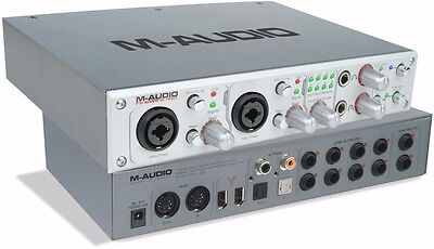 $70 • Buy M-audio Firewire 410 Audio Interface With Power Lead And Firewire Cable