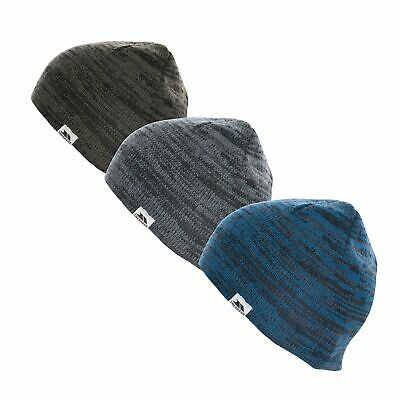 £15.99 • Buy Trespass Mens Beanie Hat Knitted Casual Winter Hat Aneth