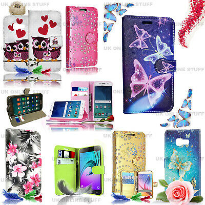 For VARIOUS SAMSUNG GALAXY J3 2016 Phones -Wallet Leather Case Flip Stand Cover • 3.49£