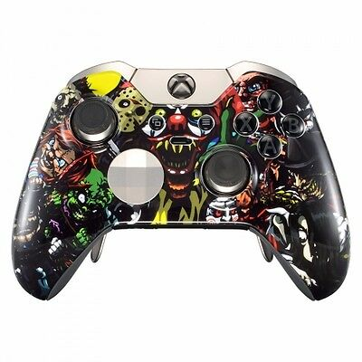 SCARY PARTY Xbox One ELITE Rapid Fire Modded Controller 40 Mods For COD Destiny • 219.95$