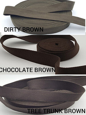 38 MM Thick Poly Cotton Strong Canvas Tape Bunting Webbing Strap Bag Straps DIY  • 6.59£
