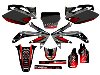 $159.99 • Buy 2005 2006 2007 Crf 450r Graphics Kit Crf450r 450 R Deco Decals Stickers 05 06 07
