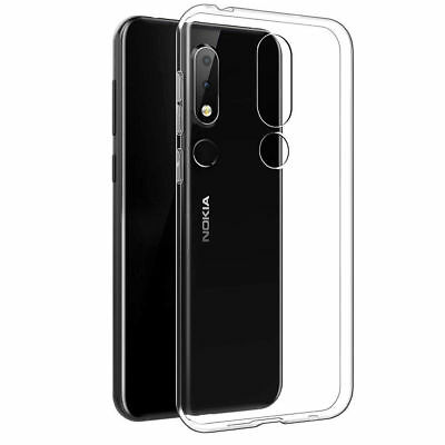 AU6.99 • Buy Soft Clear Transparent Gel Case Cover For Nokia 1 2.1 3 3.1 5 6 6.1 X6 7 Plus 8
