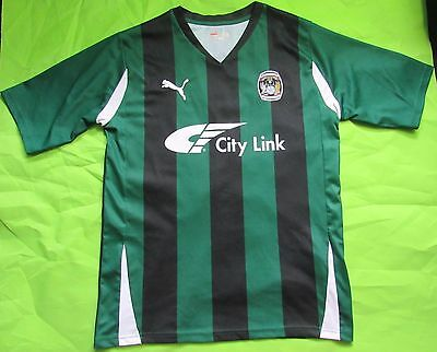 £39 • Buy Coventry City FC Away Shirt Jersey PUMA 2010-2011 The Sky Blues Adult/men SIZE M
