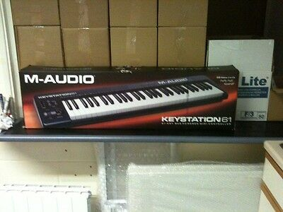 $150 • Buy M-Audio 61 Key USB KeyBoard (Black) Stand/ Downloadable Software Disk Included.