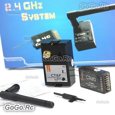 $39 • Buy Corona RC Model CT8F 2.4GHz R/C Hobby RF Module & CR8D Receiver For Futaba