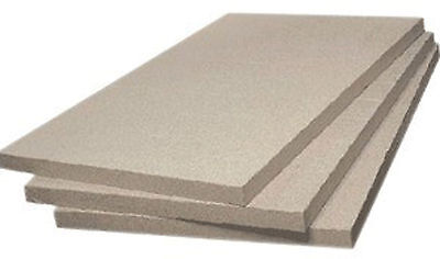 £49.90 • Buy Fire Bricks Quality Vermiculite Board 600mm X 500mm X 25 Cut Your Own Any Size