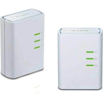 AU82.94 • Buy Mini Starter Kit PowerLine AV+ Passthrough Network Mini Adapter D-Link