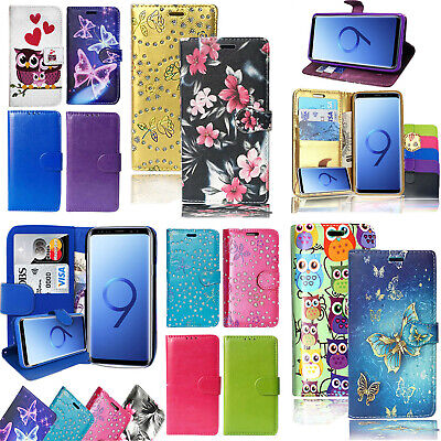 Magnetic Leather Flip Wallet Phone Case Cover For Samsung Galaxy J530 (J5 2017) • 3.15£