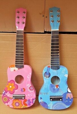 New 21  Children's Kids Wooden Acoustic Guitar Musical Instrument Child Toy  • 14.99£