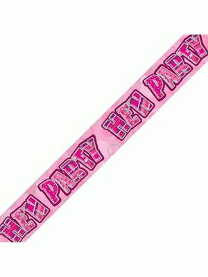 £1.39 • Buy  Hen Night Party Wall Banners Bridal Shower Party Decorations Celebrations 9ft