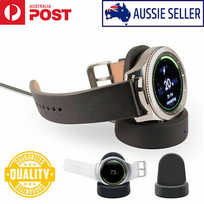 AU11.99 • Buy For Samsung Galaxy Gear S3 Active Watch Wireless Charging Dock Cradle Charger