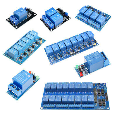 AU1.99 • Buy 5V 1/2/4/6/8/16 Channel Relay Board Module Optocoupler LED For Arduino ARM AVR