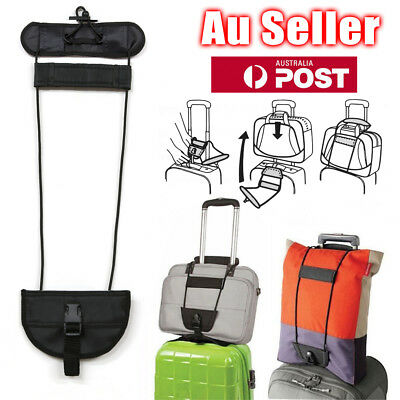 AU6.45 • Buy Travel Luggage Suitcase Adjustable Tape Belt Add A Bag Strap Carry On Bungee AU