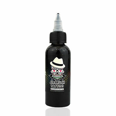 £11.51 • Buy OPHIR 60ML Black Airbrush Body Art Paint Pigment For Temporary Tattoo Painting