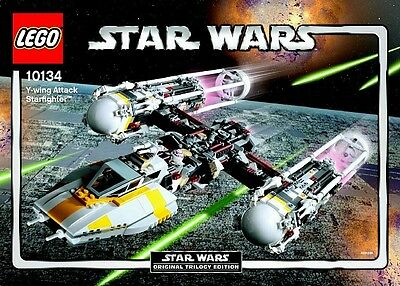 AU1230 • Buy LEGO 10134 Star Wars Ultimate Collectors Series Y-wing Attack Starfighter UCS