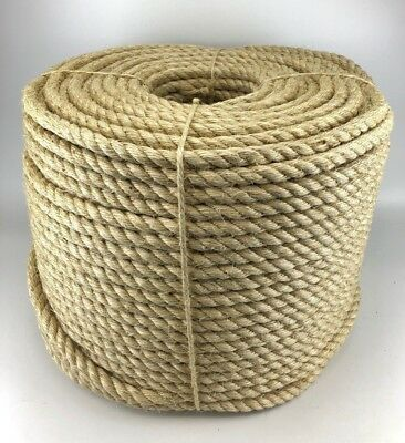 New Natural Sisal Rope Coils, Cats, Garden, Decking, Pets, Cat Scratching Post • 14.75£