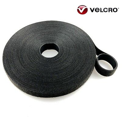 VELCRO® Hook And Loop ONE-WRAP® Double Sided Strapping Black And White, Green 1m • 2.60£